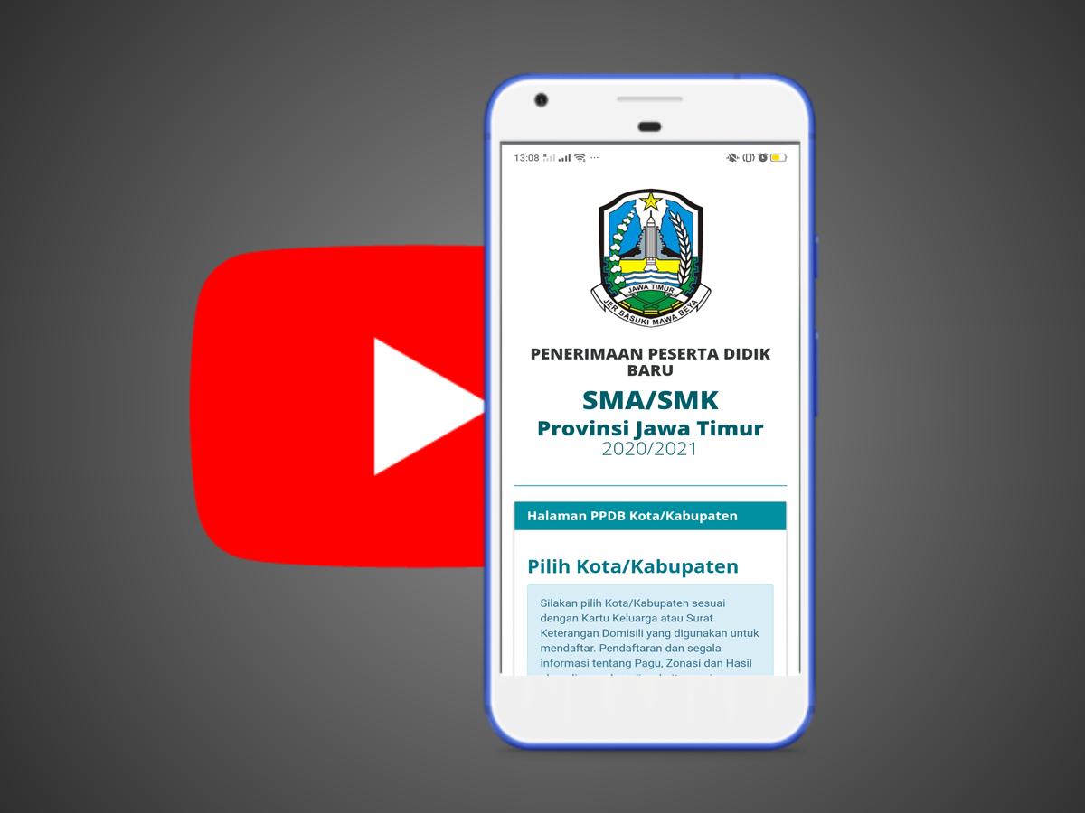 Inilah Daftar Link Video Youtube PPDB 2020 Untuk Membantu Calon Pendaftar